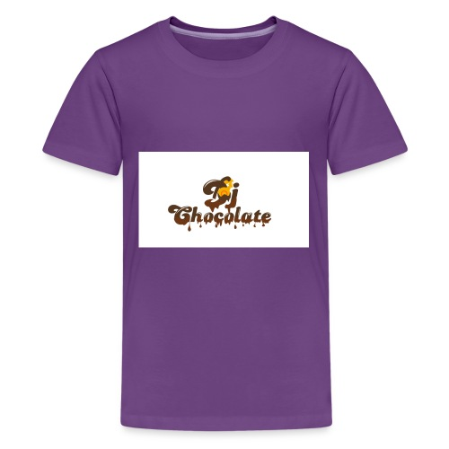 dj chocolate - Kids' Premium T-Shirt