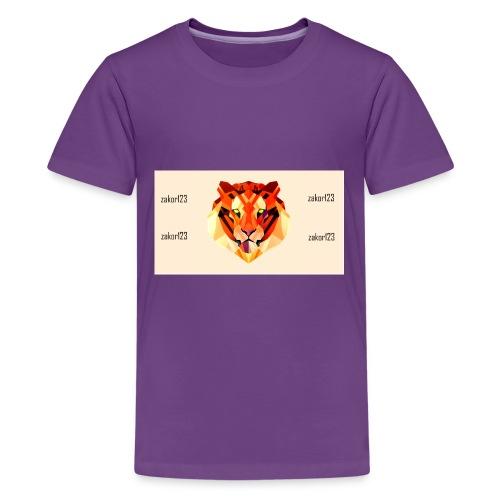 zakor´s123 official T-shirt - Kids' Premium T-Shirt