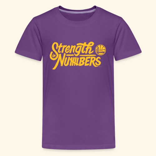 strength in numbers golden states - Kids' Premium T-Shirt
