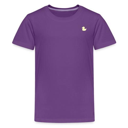 DuckieYellow - Kids' Premium T-Shirt