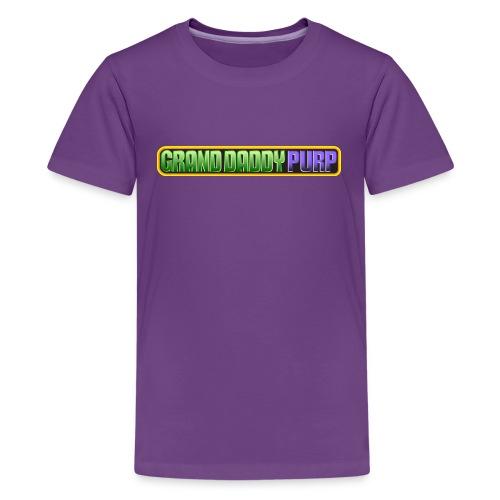 Grand Daddy Purp Logo - Kids' Premium T-Shirt
