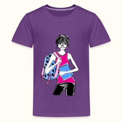 College Student - Kids' Premium T-Shirt