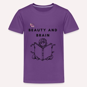 The stylish bookworm collection - Kids' Premium T-Shirt