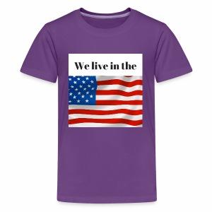U.S.A. - Kids' Premium T-Shirt