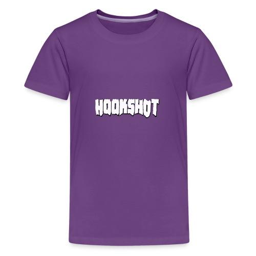 HookShotLogoWhite - Kids' Premium T-Shirt