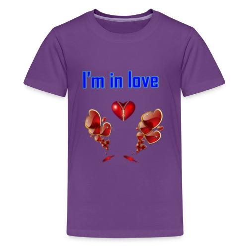 I'm in love - Kids' Premium T-Shirt