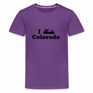 colorado mountain - Kids' Premium T-Shirt