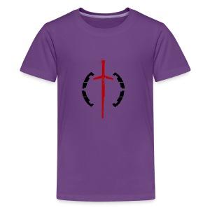 Faction Sword Logo V2 - Kids' Premium T-Shirt