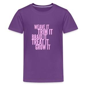 Healthy Hair - Kids' Premium T-Shirt