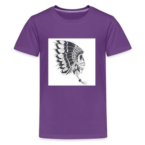 skull mascot - Kids' Premium T-Shirt