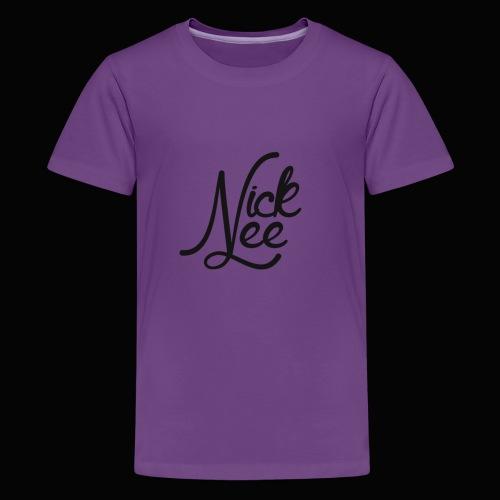 Nick Lee Logo - Kids' Premium T-Shirt