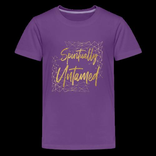 Spiritually Untamed Gold 1 - Kids' Premium T-Shirt