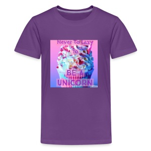 Never To Lazy To Be A Unicorn - Kids' Premium T-Shirt