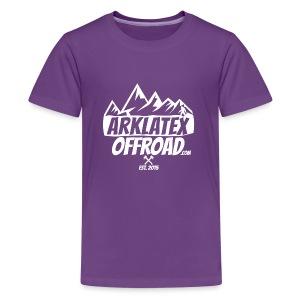 ArkLaTex Round White - Kids' Premium T-Shirt