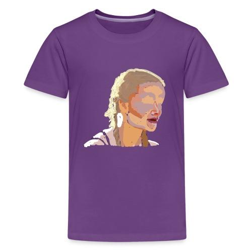 Blurred girl - Kids' Premium T-Shirt