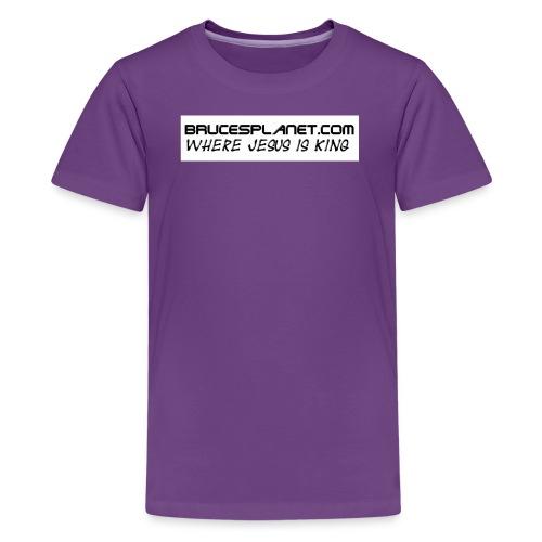 BrucesPlanet Simple - Kids' Premium T-Shirt