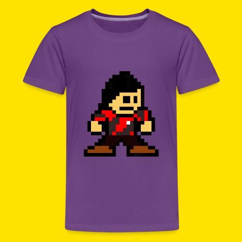Kuna Mega Man Logo Unisex Tie-Die - Kids' Premium T-Shirt