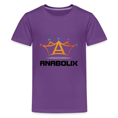anabolix logo color - Kids' Premium T-Shirt