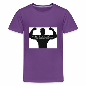 tough man icon vector id459516969 - Kids' Premium T-Shirt