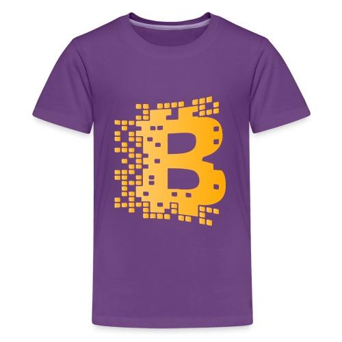 blockchaingold - Kids' Premium T-Shirt