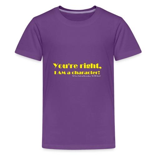 I'm a Character! - Kids' Premium T-Shirt