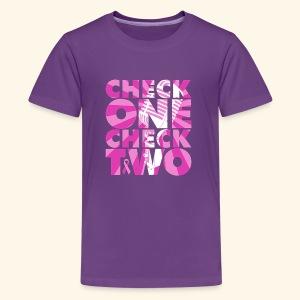 Check 1 Check 2 - Kids' Premium T-Shirt