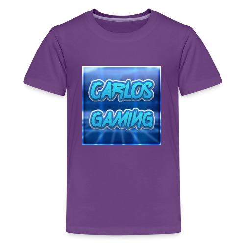 Carlos Gaming merchandise - Kids' Premium T-Shirt