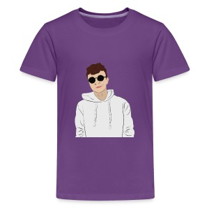 Adam sunglasses - Kids' Premium T-Shirt