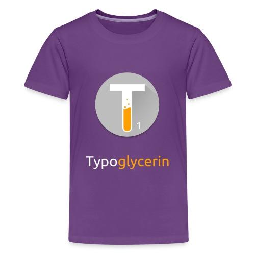 Typoglycerin Logo Long Sleeve - Kids' Premium T-Shirt