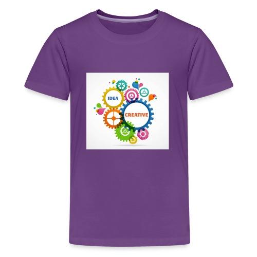 Think Outside the box - Kids' Premium T-Shirt