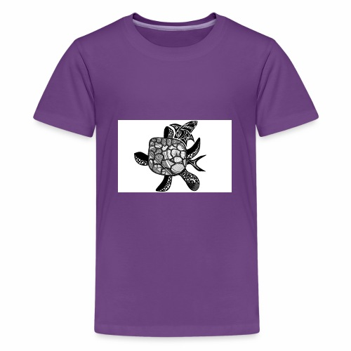 turtle and shark - Kids' Premium T-Shirt