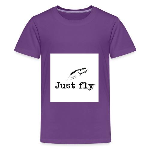 just fly - Kids' Premium T-Shirt