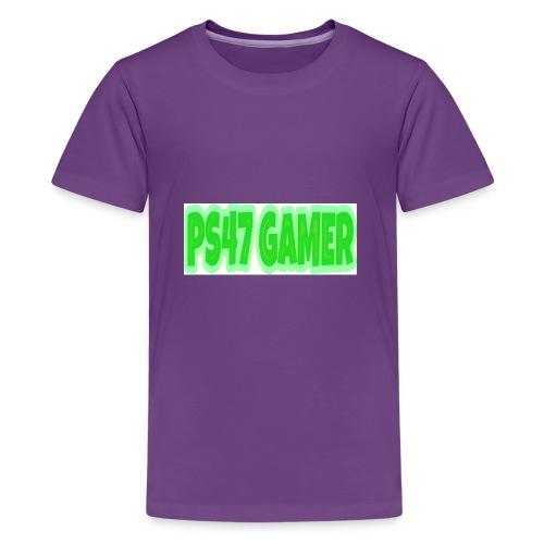PS47 OFFICIAL GAMERTAG - Kids' Premium T-Shirt
