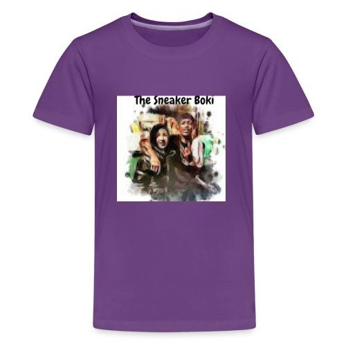 THE SNEAKER BOKI w/ Durk LOGO - Kids' Premium T-Shirt