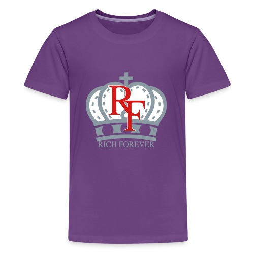 Rich forever Crown 3 5 - Kids' Premium T-Shirt