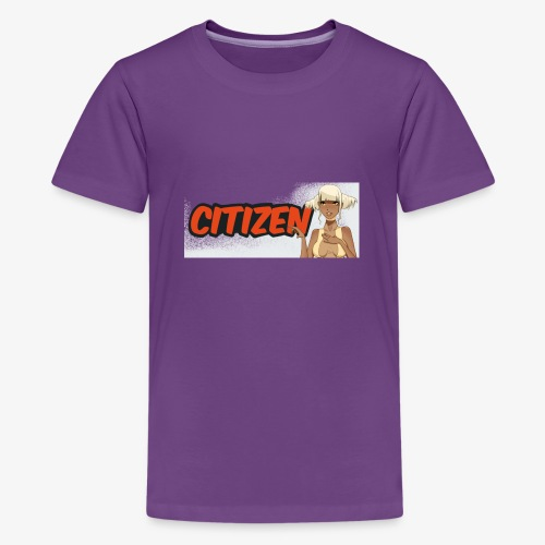 Citizen Girl - Kids' Premium T-Shirt