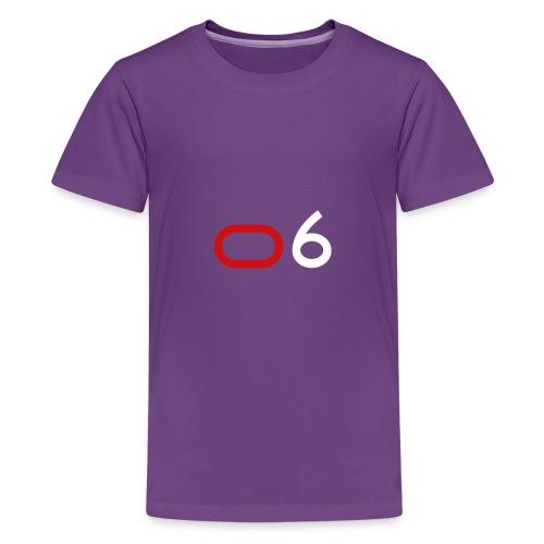 Original 6 Logo (White) - Kids' Premium T-Shirt