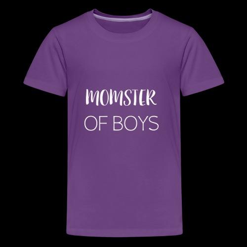 MOMOFBOYSWHITE - Kids' Premium T-Shirt