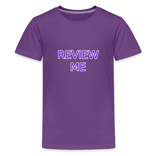 REVIEW ME - Kids' Premium T-Shirt
