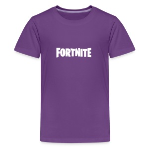 Fortnite Logo - Kids' Premium T-Shirt