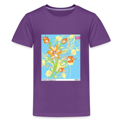 flowers67 - Kids' Premium T-Shirt