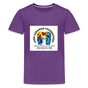 JHEN CABANAG FOUNDATION INTERNATIONAL Logo - Kids' Premium T-Shirt