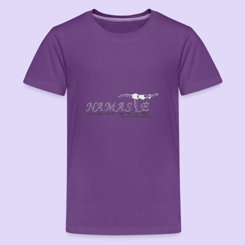Balancing Stick Namaste-light - Kids' Premium T-Shirt
