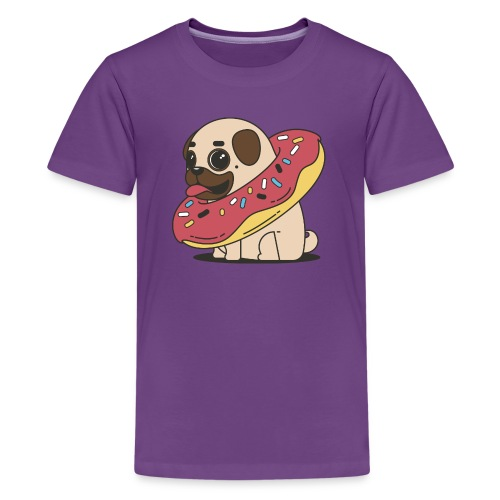 little pug - Kids' Premium T-Shirt