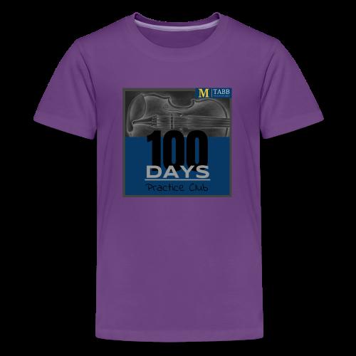 100 Days T-Shirt 2.0 - Kids' Premium T-Shirt