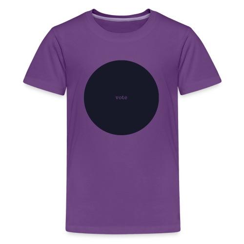 circle vote - Kids' Premium T-Shirt