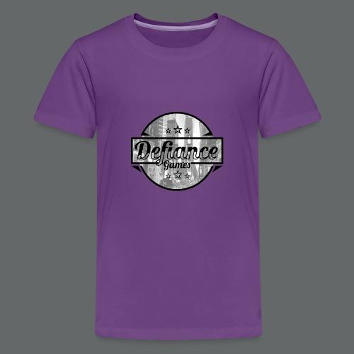 Defiance Games Street Logo Shirt - Kids' Premium T-Shirt