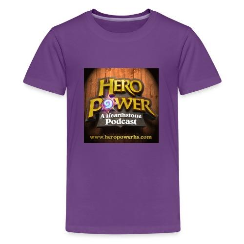 Hero Power iTunes Cover - Kids' Premium T-Shirt