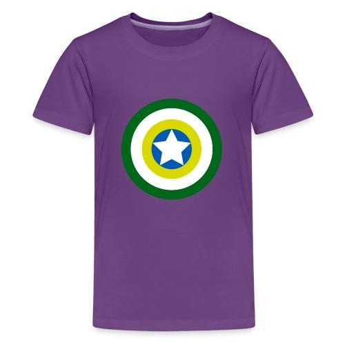 Capitão America Brasil - Kids' Premium T-Shirt