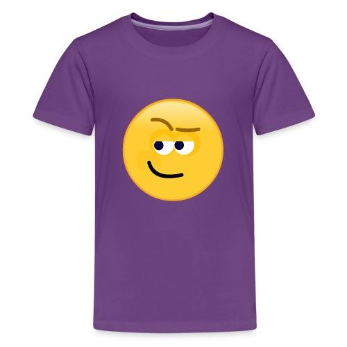 Smirk - Kids' Premium T-Shirt